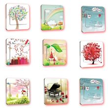 New Wall Stickers Switch Cover Light Switch Decor Art Mural Nursery Room Home Decal