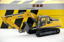 Original quality goods 1:35 XE215C excavator model Engineering machinery model Alloy model Collection model Holiday gift