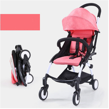 Good quality cheap price baby kinderwagens 3 in 1 baby wheelchair For Infant children push baby carriages stroller wandelwagen
