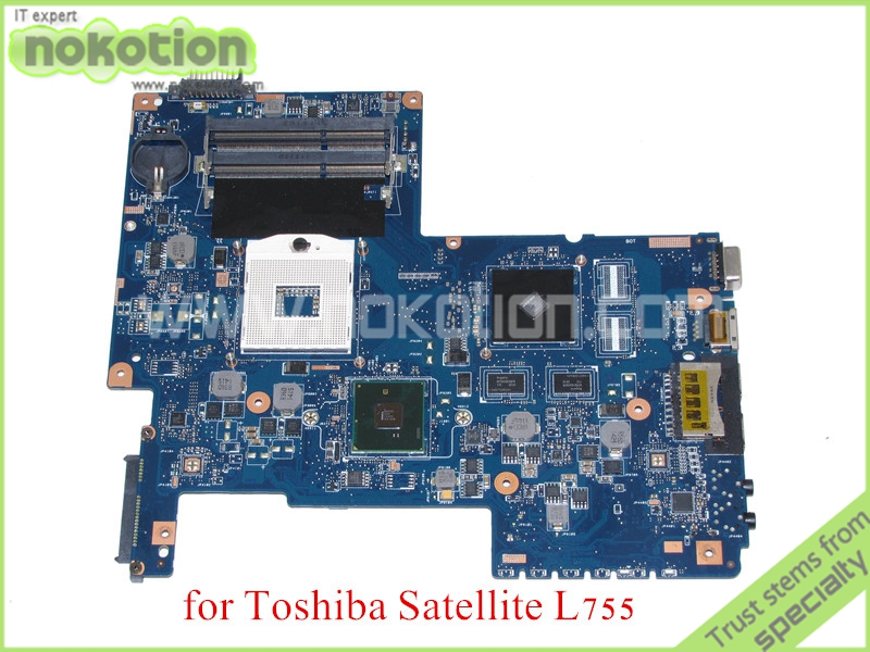 laptop motherboard for toshiba satellite L755 H000031380 HM55 NVIDIA GT310M DDR3<br><br>Aliexpress