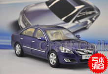 Special Offer! Blue 1/18 Hyundai Sonata NFC Alloy Model Car Christmas Toy Gift Classical Style Cars for Sale Aluminum Products