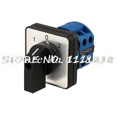 Circuit Control On-Off-On Rotary Change Over Switch 20A<br><br>Aliexpress