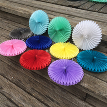 1pcs 6inch 15cm Paper Fans Hand For Wedding Decorations Birthday Party Kids Happy Table Flowers Marriage  New Year Favors