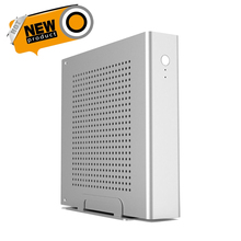 Free Shipping! Mini Tower Full Aluminum Case Supports 170*170(mm) mini ITX Motherboard, 1*2.5' HDD/SSD Dimensions 200*200*45(mm)