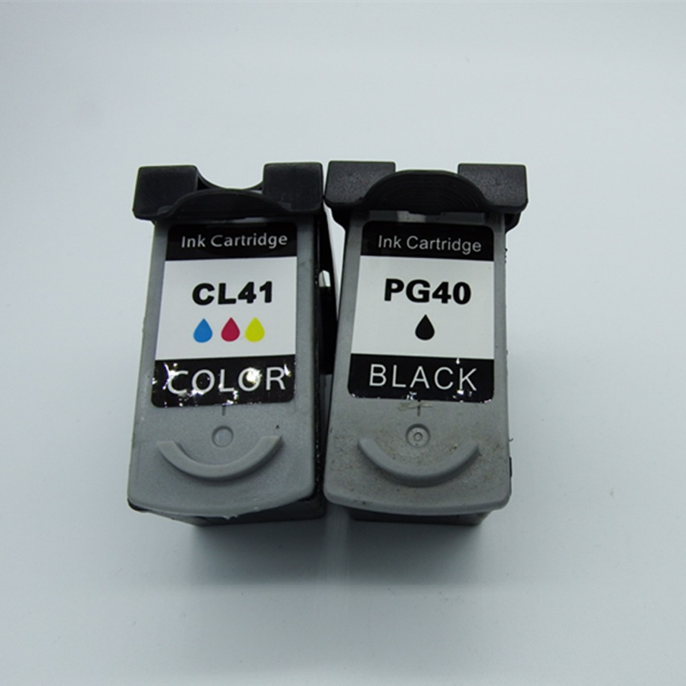 1 Set PG-40 PG40 PG 40 CL-41 CL41 Ink Cartridge for CANON PIXMA IP2500 IP2600 MX300 MX310 MP160 MP140 MP150 MP210 MP450 MP470<br><br>Aliexpress