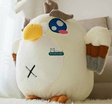 Dorimytrader 20'' / 50cm Lovely Stuffed Soft Plush Giant Cartoon Animal Eagle Toy Pillow Nice Baby Gift Free Shipping DY60381