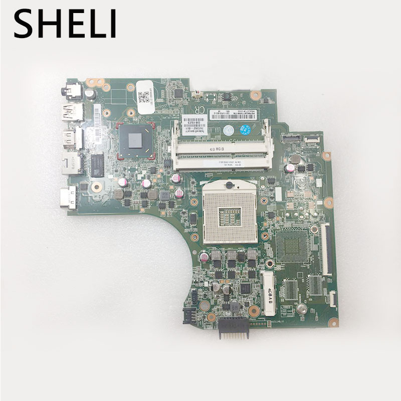 SHELI  For HP 14-D 240 G2 246 G2  Laptop Motherboard 747262-601 747262-501 747262-001 HM76  DDR3