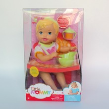 35cm little baby Little Mommy  feeding baby doll take care pretend  toy figure toy
