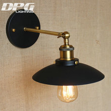 Modern White Industrial Lighting Classic Wall Lamp Country Vintage Led Loft Antique long lights American Sconce for Home Indoor(China)