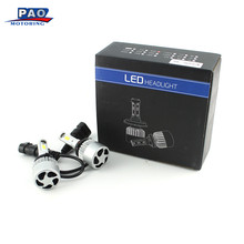 Automobiles LED Car Truck SUV RV HID Headlight Led Lamps Bulbs DC 9V-36V HB4 (9006) 60W 7200LM Car-Styling Front(China)
