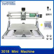 CNC Router DIY 3018 ER11 GRBL Control Diy CNC machine,3 Axis PCB Milling Machine,Wood Router Laser Engraving(China)