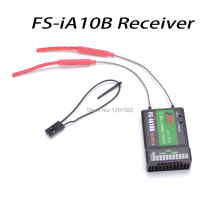 Buy Flysky 10ch Receiver FS IA10B Transmitter FS-I10 FS-I6S FPV RC Heli Plane Quadcopter drone for $16.99 in AliExpress store