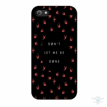 Don T Let Me Be Gone Twenty One Pilots mobile phone cover case for iPhone 4S 5S 5C 6S 6S Plus 7 7Plus Samsung Galaxy S4 S5 S6