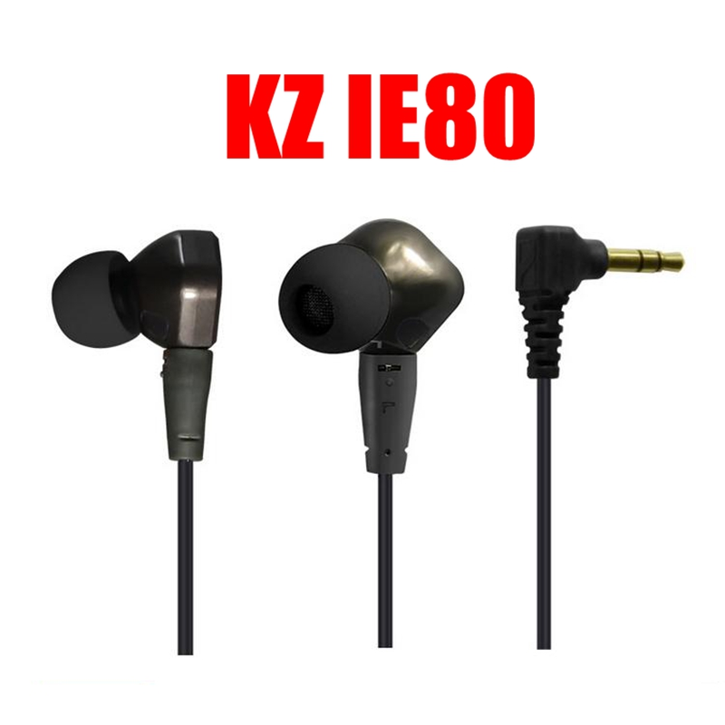 5PCS/lot Original High Quality KZ IE80 3.5MM Stereo In-Ear Earphone Noise Cancelling HiFi Deep Bass Music Mobile Earphones<br><br>Aliexpress