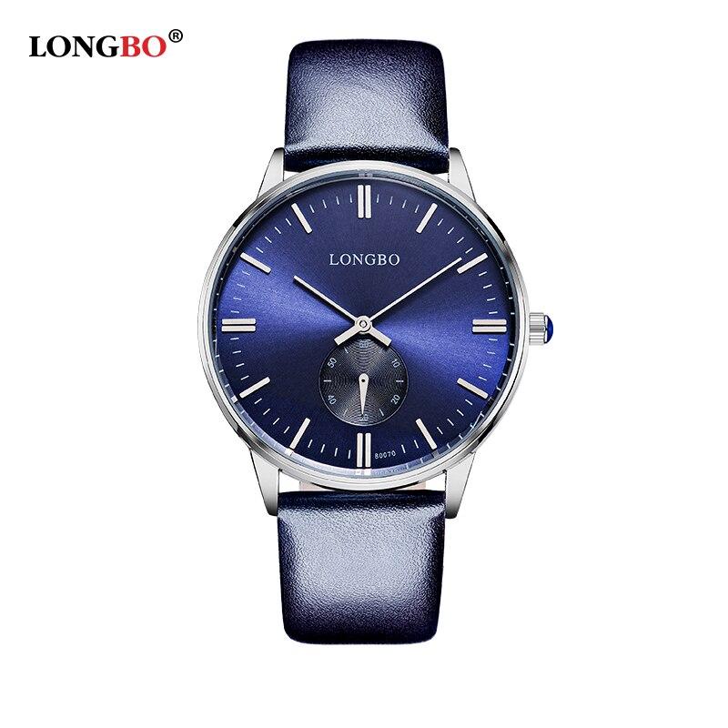 LONGBO Brand Business Watch 2016 Fashion Lovers Genuine Leather Quartz Watch Men Women Casual Waterproof Wristwatch Relogio<br><br>Aliexpress