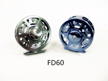 Promotion 3BB titanium alloy fly fishing reel FD60 aluminium alloy wheel(China)
