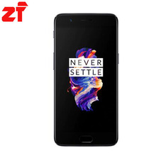 a5000 One plus cell phone five 8GB RAM 6GB RAM Original phone Oneplus 5 original(China)