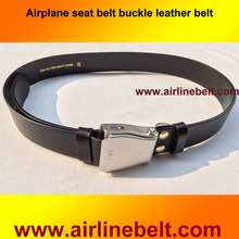 New design business Fashion airline Automatic car auto seat belt buckle Men's belt Genuine Luxury Italy leather belt(China)