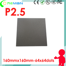 Aliexpress good price led sign module p2.5 / video led tv wall module p2.5 / 64x64 dot matrix rgb led module pixel 2.5mm