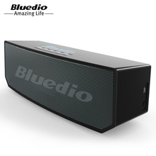 Bluedio BS-5(Camel) mini speaker with Bluetooth wireless bluetooth column usb mini subwoofer speaker for xiaomi phone computer music(China)