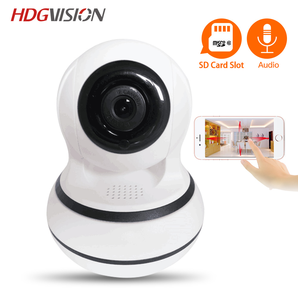 Hdgvision Home Security IP Camera Wireless WiFi Camera Surveillance 720P Night Vision CCTV Baby Monitor<br>