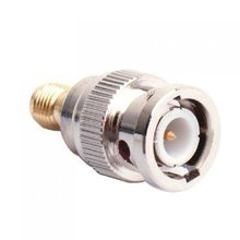IMC Hot BNC Male to SMA Female Plug Coax Adapter
