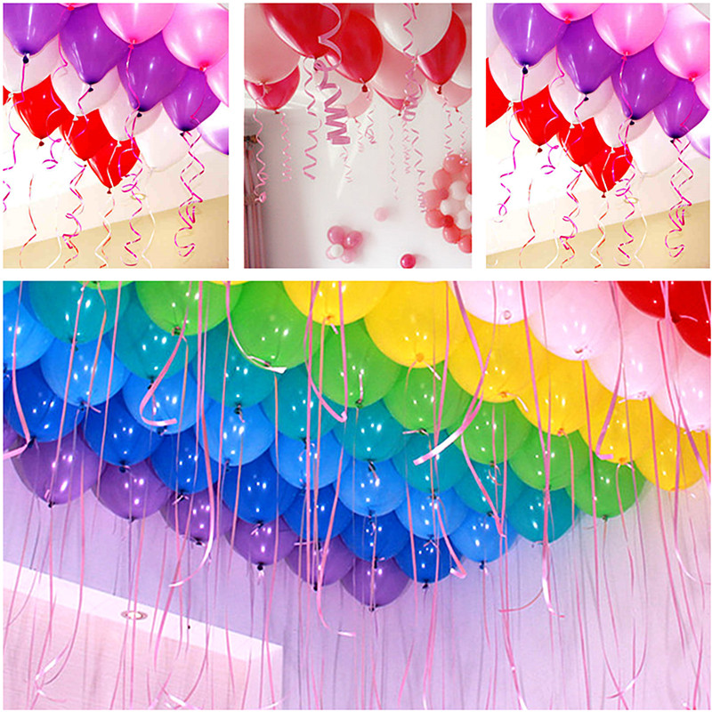 10M*5mm Balloons Ribbon Wedding Birthday Party Decoration