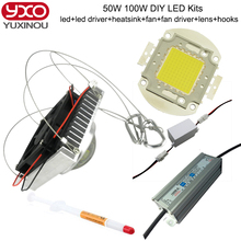 50W 100W LED  Chip for High Power DIY LED Floodlight Lamp Spot Light led high bay light Integrated COB LED Beads
