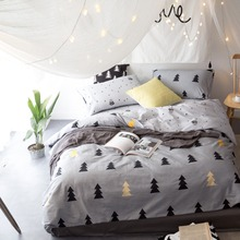 IvaRose 100% Cotton Bedding Set Bedcover Sets tree Duvet Cover Sets Bed Sheets Adults Kids Housse De Couette King/Queen/Twin