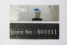 Free Shipping New RU laptop keyboard with black frame for Lenovo G570 Z560 z565 SerIes MP-10A33SU-6864