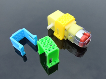 Buy 10pcs/lot ABS Materials Holder TT Speed Reduce Motors Plastic Frame Motor Fixed Seat DIY RC Model Cars Chassis Bracket for $4.99 in AliExpress store