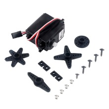 5Pcs/lot Servos 360 Degree Continuous Rotation Servos for Smart Car Robots Aerospace Model By DIY for Remote Control Toys Z0154(China)