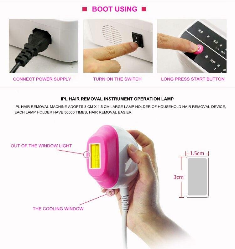 HTB1ZvpdSXXXXXabXVXXq6xXFXXXC - 2017 free shipping Body Epilator Freezing Point Instrument Laser Hair Removal Skin Home Beauty Skin rejuvenation