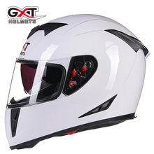 2017 NEW Genuine Cool GXT Full Face Helmets Motorcycle Racing Helmet Dual Lens Motorbike Motos Casco Capacete Summer&Winter