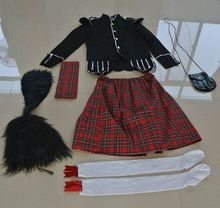 scotland apparel scotland costumes for children scotland kilt halloween cosplay clothing Ireland clothing