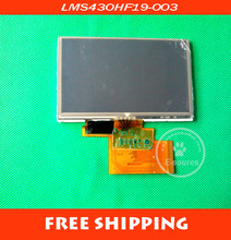 Free shipping New Tom TomTom XL 4.3'' LMS430HF19-003 LCD screen display + touch screen digitizer