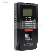 DIYSECUR Biometric Fingerprint Time Clock And Access Control With ID Card Reader+TCP+USB(China)