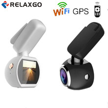 Relaxgo Mini Car DVR Wifi GPS Logger Car Camera FHD1080P Video Recorder Night Vision Dash Cam Remote Control Auto Black Box