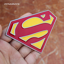 2pcs Car Styling Large Solid Metal 3D Auto Decal Logo Badge Motorcycle sticker  Emblem Car Accessories Car Stickers