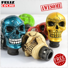 Universal Cool Car Shift Knobs Skull Gear Shift Knob Auto Gear lever for Manual Transmission Awesome stuff A7015