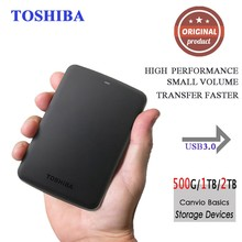 "Toshiba Portable External Hard Disk Drive Mobile HDD Canvio Basics USB 3.0 2.5"" 1TB 2TB Desktop Laptop Computer PC HDTB320YK3CA"