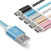 Buy Multi Color Nylon Metal Micro Android Mobile Phone USB Cable Fast Charg Charging Sync Data Cable Samsung HTC LG SONY Huawei for $1.07 in AliExpress store