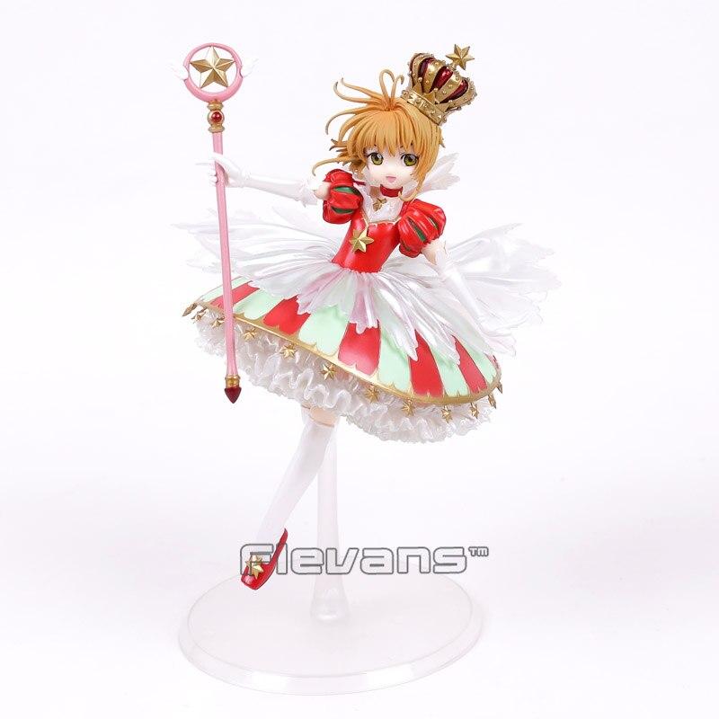 Card Captor Sakura Kinomoto Sakura 15th Anniversary 1/7 Scale PVC Figure Collectible Model Toy<br>