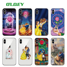 Buy OLOEY Beauty Beast Rose Princess Soft Clear Phone Case Coque Fundas iPhone 7 7Plus 6 6S 6Plus 8 8Plus X SAMSUNG Galaxy for $1.39 in AliExpress store