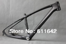 Buy 2015 26ER Carbon MTB Frame UD matt carbon mountain bike frame small bike 16inch for $325.00 in AliExpress store