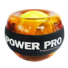 New Design Fitness Wrist Exerciser Powerball Gyroscope Force Ball Gyro Power Ball  LED Speed Meter Powerball
