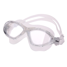 Durable Swimming Eyewear Clear Silicone Large Anti-fog UV protection Swim Goggles Glasses Swimming Training Mask