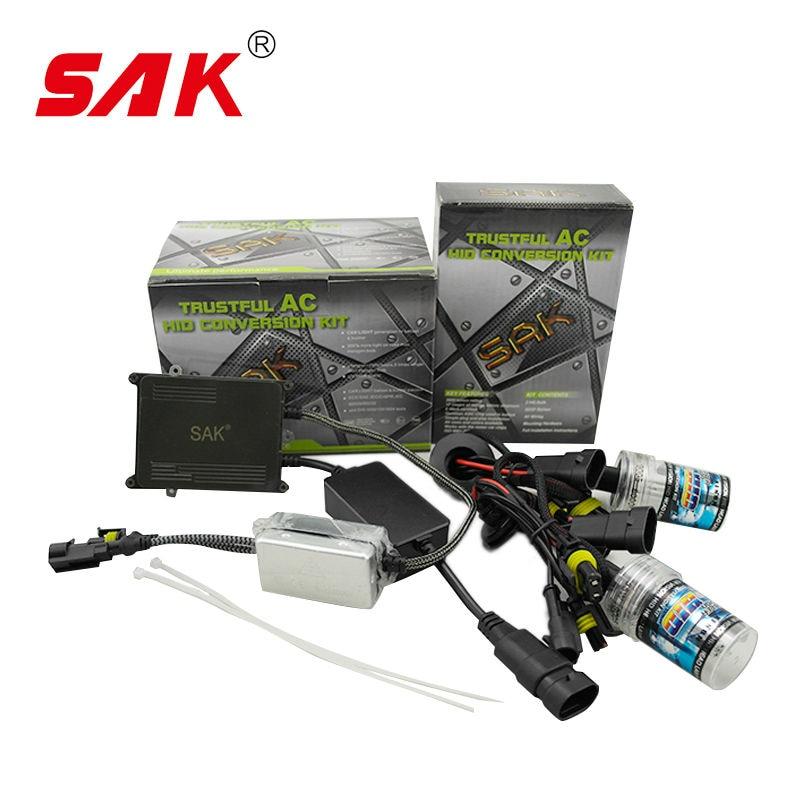SAK 1set ac 12v 55w canbus hid single beam hid kit xenon canbus kit same as hylux hid kit 9005 9006 h7 h1 h8 880 6000k<br><br>Aliexpress