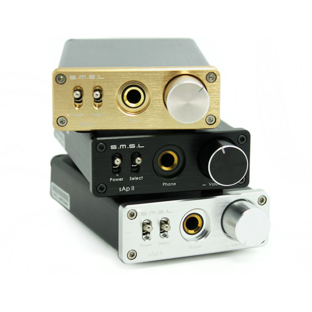 SMSL new upgraded sApII Pro TPA6120A2 Big Power High Fidelity Stereo Headphone Amplifier(China (Mainland))