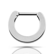 Septum clicker Nose Cuff Ring 1pcs 316L Stainless Steel Solid Septum Clicker Hoop Nose Ring Hinged Body Piercing Gauges